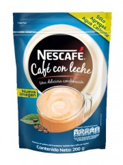 CAFE NESCAFE CON LECHE *...