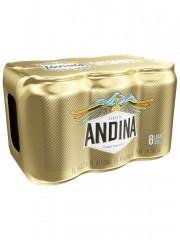 CERVEZA ANDINA *355 ML *6 UND