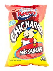 CHICHARRON SUPER RICAS * 50 GR