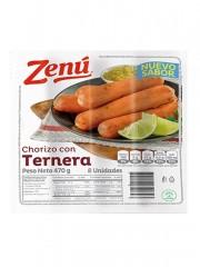 CHORIZO ZENU TERNERA *470 GR