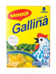 CALDO DE GALLINA MAGGI * 8 UND