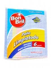 PAÑO BOM BRIL LIMPIATODO *6...