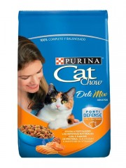 PURINA CAT CHOW AD DELIMIX...