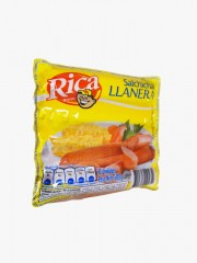 SALCHICHA RICA LLANERA *500 GR