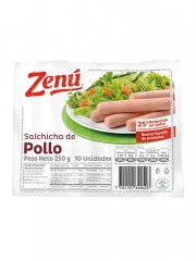 SALCHICHA ZENU POLLO *250 GR