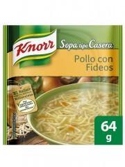 SOPA KNORR POLLO FIDEOS *64 GR