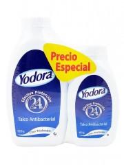 TALCO YODORA *120 GR + 60 GR