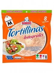 TORTILLA BIMBO INTEGRAL*8 UND
