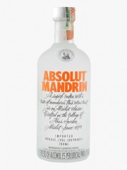 VODKA ABSOLUT MANDRIN *750 ML