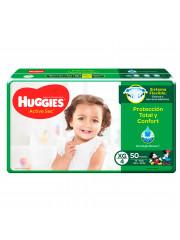 PAÑALES HUGGIES ACTIVE SEC...