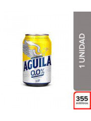 CERVEZA AGUILA 0.0% *355 ML