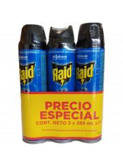 INSECTICIDA RAID VOLADORES...