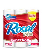 PAPEL HIGIENICO ROSAL XXG *...