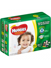 PAÑALES HUGGIES ACTIVESEC...